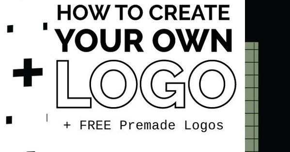 How to create your own logo for free free premade logos for Draw my own logo