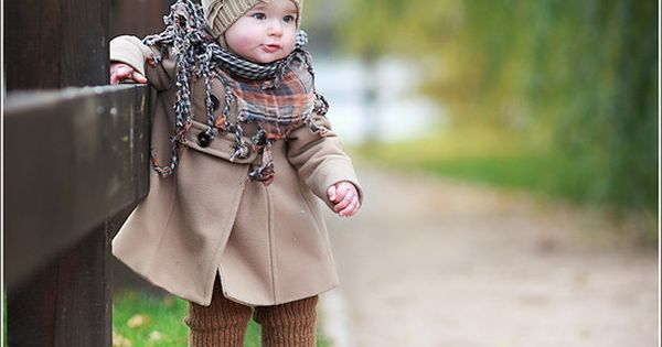 Baby fashion -- Love the hat!