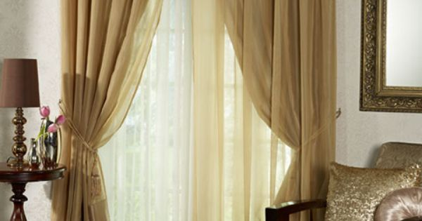 Homechoice Gianna Curtains All That Glitters Is Gold