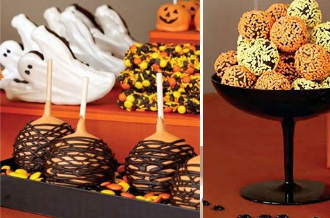 Halloween Dessert Table ♥