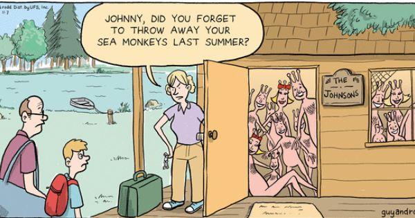 Sea Monkeys Ad Joke Google Search Sea Monkeys Monkeys Funny Sea