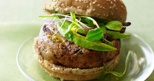 Tuna burgers with carrot ginger sauce recipe sushi for Whole foods sushi grade fish