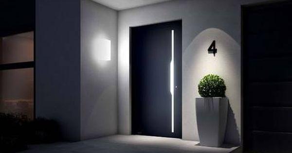 Den Hauseingang Ins Rechte Licht Rucken Aussenbeleuchtung Haus