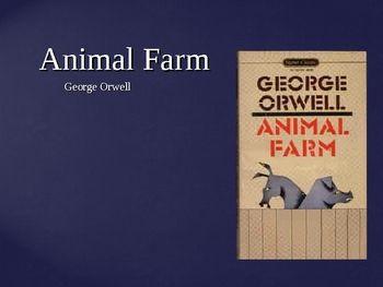 Animal Farm Novel Background Information Powerpoint Animal Farm Novel Animal Farm George Orwell Farm Animals