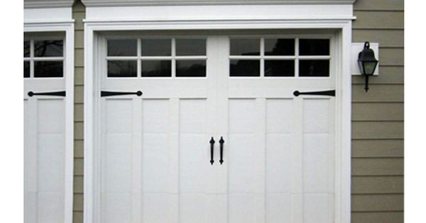 Pin By Joan Weeks On House Exterior Ideas Garage Door Styles Garage Door Trim Exterior Entry Doors
