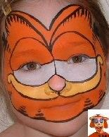 Image Result For Garfield Costume Diy Face Painting Halloween Face Painting Diy Face Paint