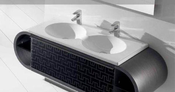 Lavabo Veranda De Roca.Roca Veranda Double Sink Bathroom Showrooms Roca