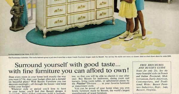 Bassett Furniture Ad Collection From Key Home Furnishings