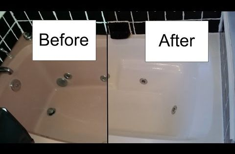 Step By Step Procedure For Refinishing A Bathtub With