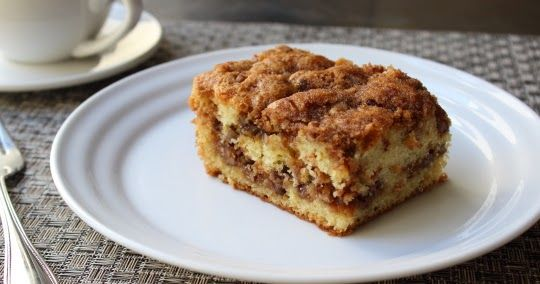 Pecan Sour Cream Coffee Cake Now With More Crumbs Recipe Breads With White Sugar Cinnamon Light Brown Sugar Sour Cream Coffee Cake Coffee Cake Food Wishes