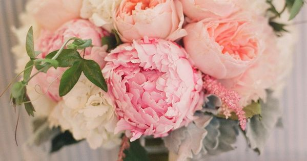 Peony, English Rose, Astilbe Bouquet Designer: April Flowers Flowers: Astilbe | Hydrangea