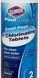Amazon Price Tracking And History For Clorox Pool Spa 60001clx Small Pool 1 Inch Chlorinating Floater Tablets 1 5 Pound B00pzzfqky Spa Pool Small Pool Pool Cleaning Tools