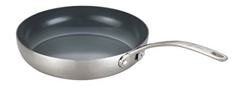 Lagostina Q5520764 Axia Stainless Steel Ceramic Nonstick Pfoa Ptfe Free Skillet Fry Pan Cookware 10inch Silver Read More At Th Lagostina Frying Pan Skillet