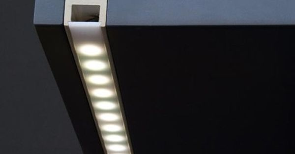 Aluminum Led Strip Lights Profile Channel Track Housing