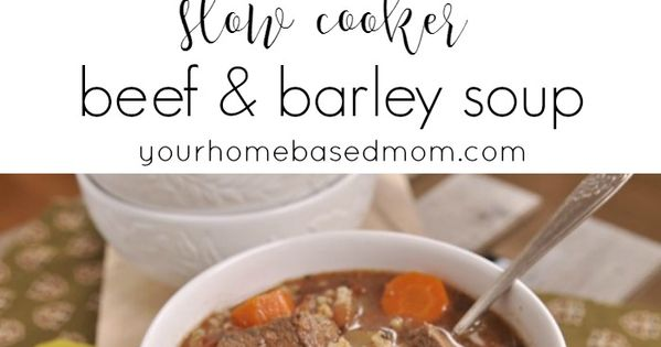how to cook pot barley in slow cooker