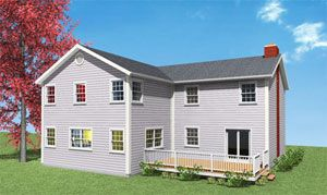 Two Story Addition Plans Costs Second Story Addition Colonial House Small Bedroom Remodel