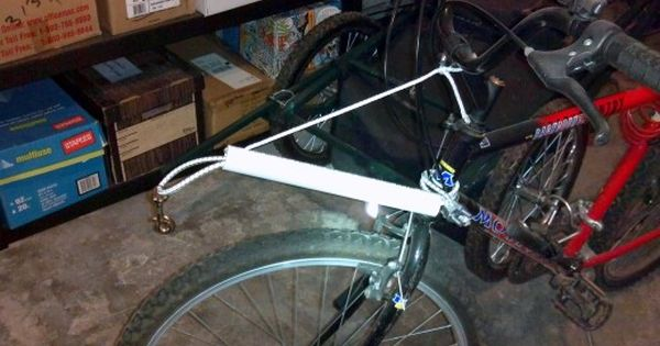 Make Your Own Gangline Elevator Aka Scooter Noodle Biking