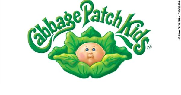Cabbage Patch Logo Printable Large Bing Images