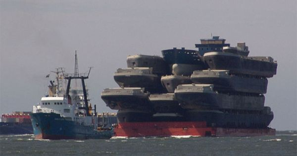 He World 39 S Longest Ships Are Listed According To Their