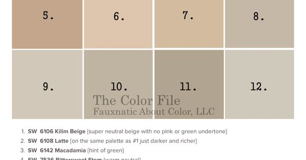 Macadamia Vs Balanced Beige Vs Accessible Beige Paint