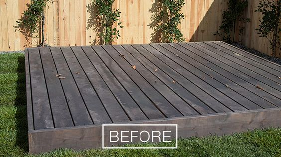 Deck restoration with behr 39 s deckover the home depot behr for Home depot 600 exterior street