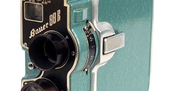 The Bauer 88B, made in Germany c1954. It likes 8mm spool film,
