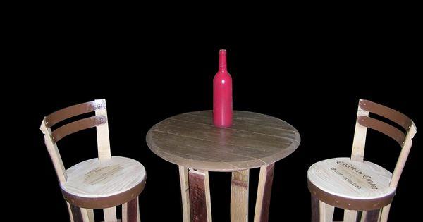 douelledereve mobilier de cave vin table bistro chaises de bar mobilier cave douelle tonneaux. Black Bedroom Furniture Sets. Home Design Ideas