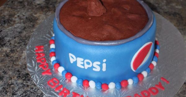 Birthday Cakes Pepsi My Cakes Pinterest Pepsi