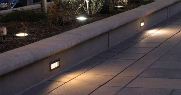 Pin By Sharon Mooney On Garden Landscape Lighting Step Lighting Outdoor Step Lighting Outdoor Lighting