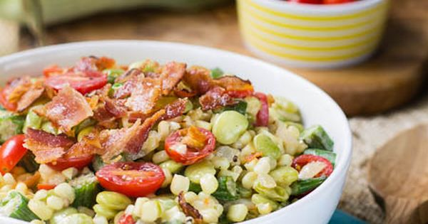 Summer, Succotash recipe and Southern recipes on Pinterest