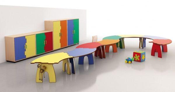 Mobiliario ideal para que los ni os se acomoden a las - Mobiliario ideal ...