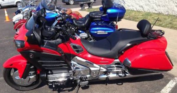 2013 Honda Goldwing F6B 204 Miles