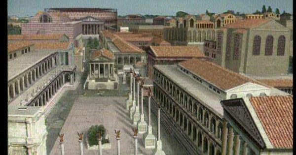 Het Forum was in het oude Rome hèt centrale plein ...