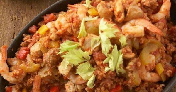 Shrimp jambalaya | Meals | Pinterest | Shrimp Jambalaya, Jambalaya and ...