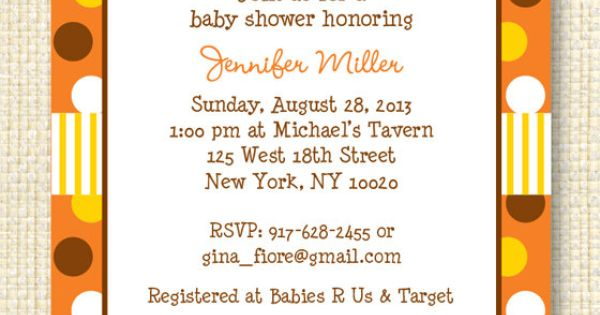 Invite For Baby Shower with great invitation sample