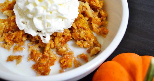 baked pumpkin pie oatmeal Recipe - Budget Bytes & ZipList