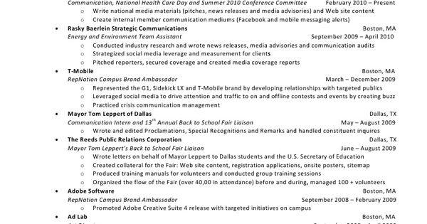 11 brand ambassador resume sample