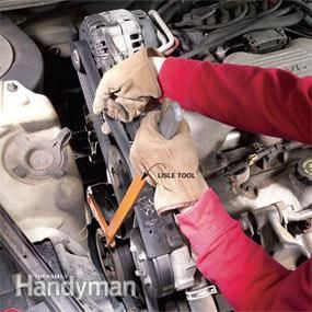 Changing A Car Serpentine Belt Car Belt