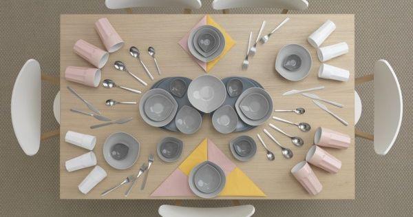 Ikea | Kitchen Table Art... che idea semplice e bella!