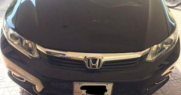 Honda Civic Vti Prosmetic Ug Model 2014 For Sale Black Honda Civic Honda Honda Civic 2014