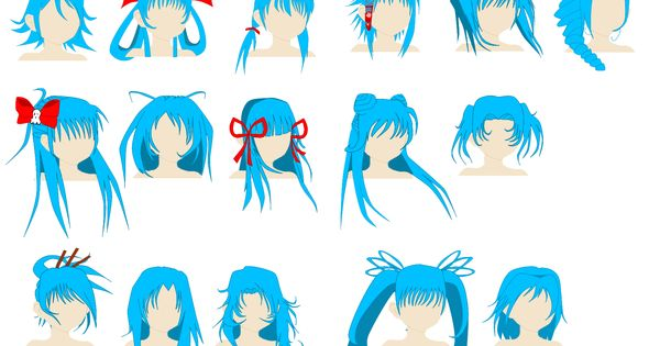 Cute Hairstyles By ~Spellcaster723 On DeviantART