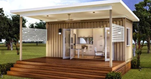 The monaco granny flats one bed one bath prefabricated for Modular granny flats