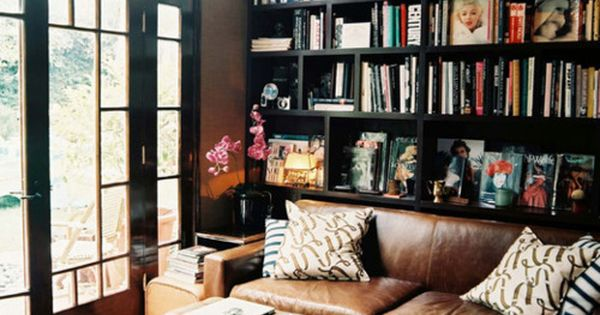 reading room, dream living room