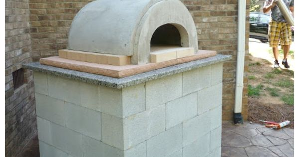 A tutorial for a DIY pizza oven! Perfect for outdoor kitchens.