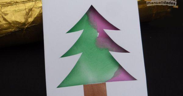 Tarjeta de navidad para hacer con ni os christmas time - Postales de navidad bonitas ...