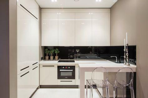 Dise o de cocina peque a y minimalista decor kitchens - Cocina minimalista pequena ...
