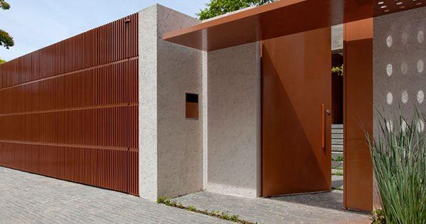 Fachadas de muros tipos e modelos de muros fachadas for Modelos de apartamentos modernos y pequenos