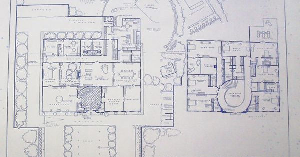 Beverly hillbillies tv show mansion blueprint memories for Norman bates house floor plan