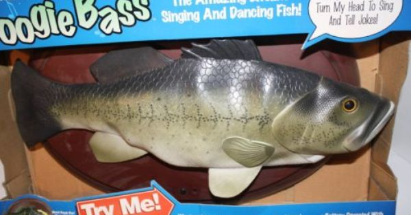 Boogie bass singing fish wall plaque ebay for sale on for Talking fish on wall