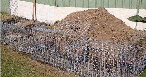 garden gabion retaining wall construction        gabion1 com au